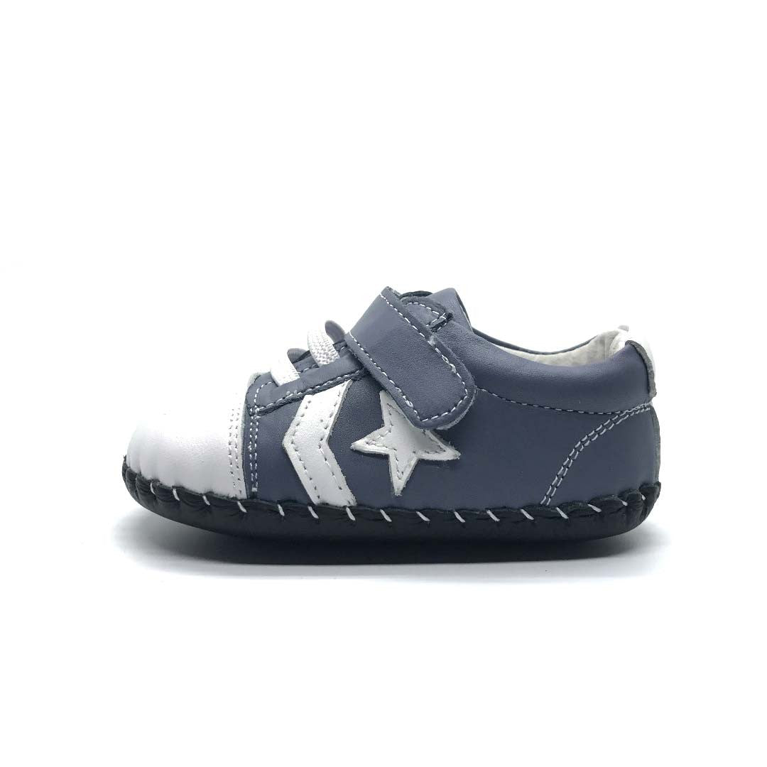 William Baby Shoe Grey Star
