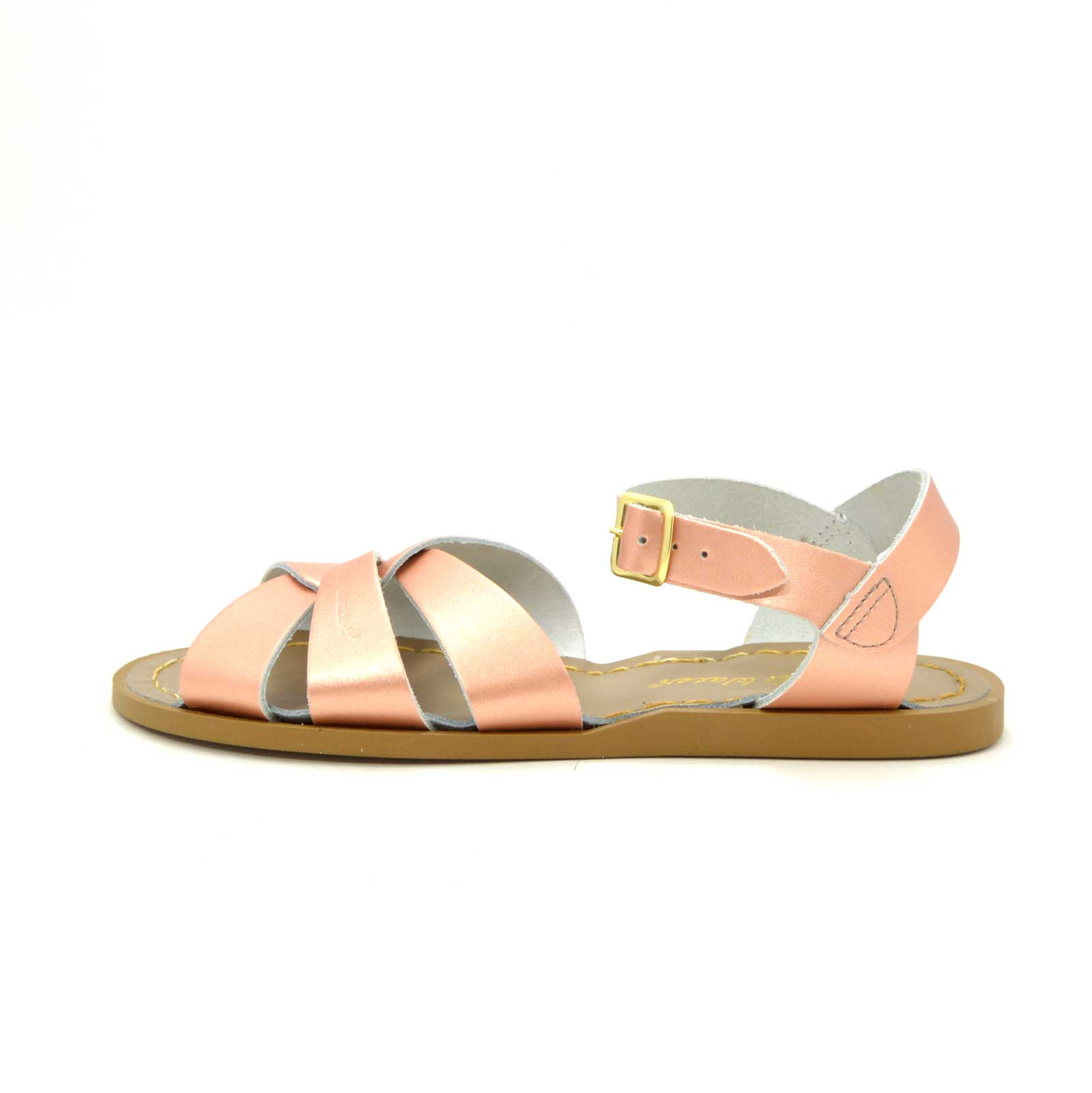 Women's Saltwater Sandals Rose Gold