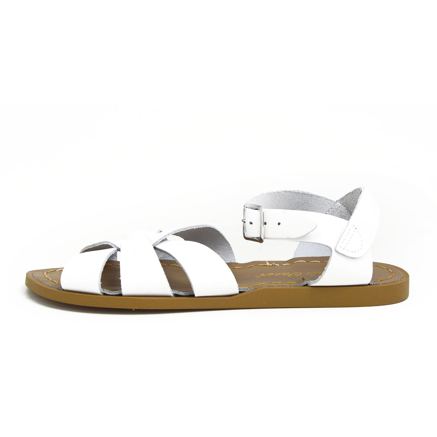Womens Saltwater Sandals White