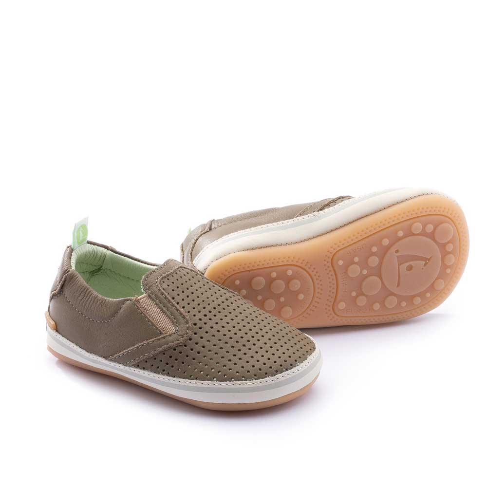 Woody Baby Shoes Mineral Green