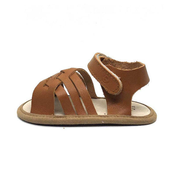 7a2c1726119f5 Woven Sandal Brown • Baby Bootique