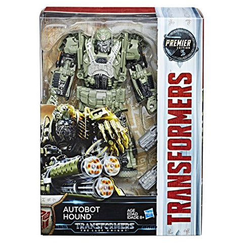 Hasbro Transformers C2357ES1Â Movie 5Â Premier Voyager Autobot Hound Action Figure