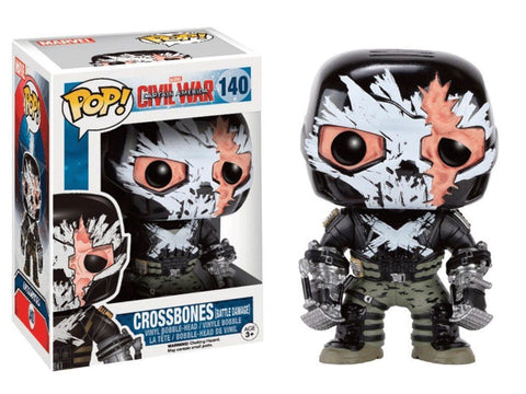 Pop! Marvel: Crossbones (Battle Damage)