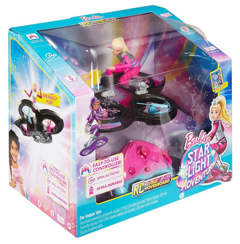 Barbie Star Light Adventure Flying Radio Control Hoverboard
