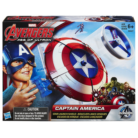 Marvel Avengers: Age of Ultron - Captain America Star Launch Shield