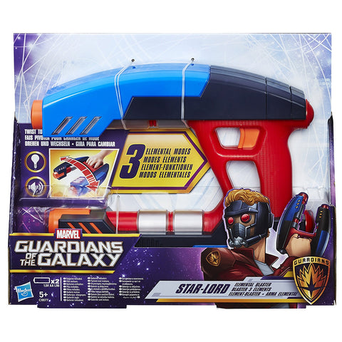 Guardians of the Galaxy Marvel Star-Lord Elemental Blaster Figure