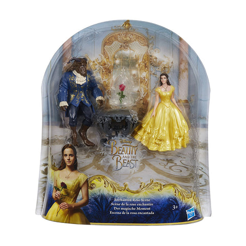 Disney Princess Beauty and the Beast Enchanted Rose Scene Set