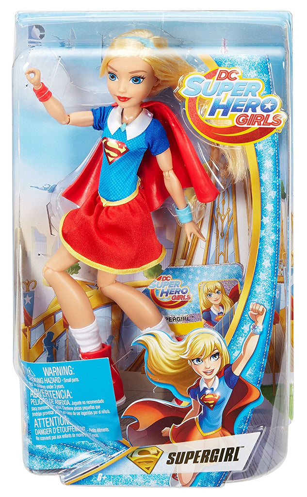ed1593febe14 DC Comics Super Hero Girls Supergirl 12 inch Action Doll – Ambros Toys