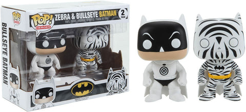 Pop! Heroes: Zebra and Bullseye Batman 2 Pack