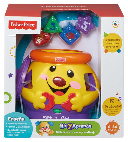 Fisher-Price Laugh and Learn Cookie Shape Surprise