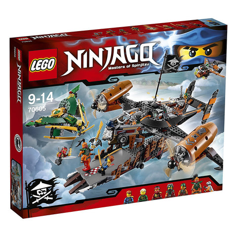 Lego Ninjago 70605 - Misfortune's Keep Playset