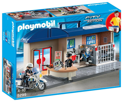 Playmobil 5299 - City Action Take Along Police Station