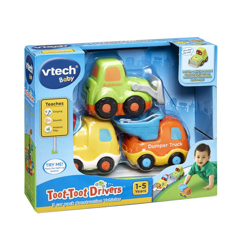 VTech Toot Toot Drivers Construction Vehicles