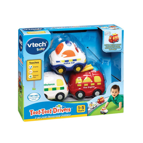 Vtech Toot Toot Driver Emergency Vehicles