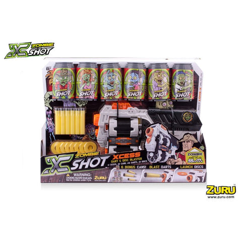 X Shot Zombie Xcess Pack