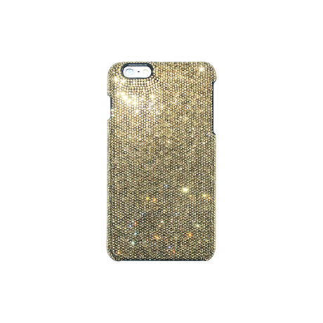 Case for Apple iPhone 6 Plus/6s Plus, Gold Rhinestones