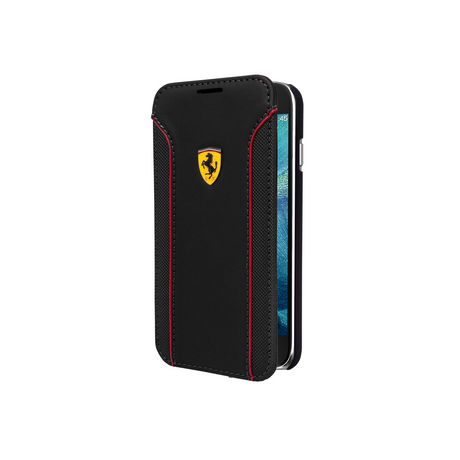 Ferrari Fiorano Flip Case for Samsung Galaxy S6, Black