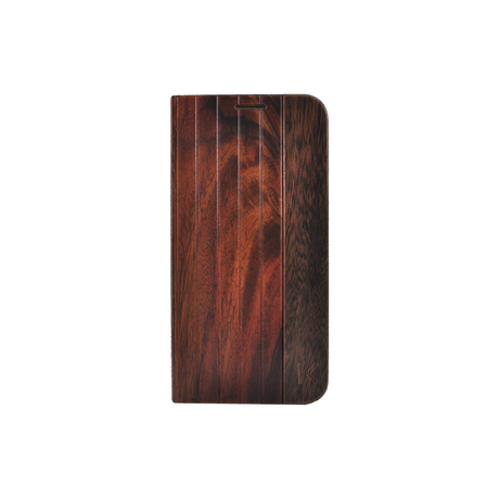 Flip case for Samsung Galaxy S6 Edge, Natural Bois de Rosewood