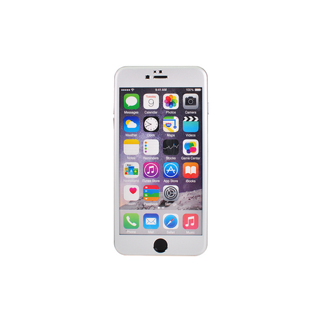 The Kase Collection Titanium Alloy Tempered Glass Screen Protector for Apple iPhone 6s Plus