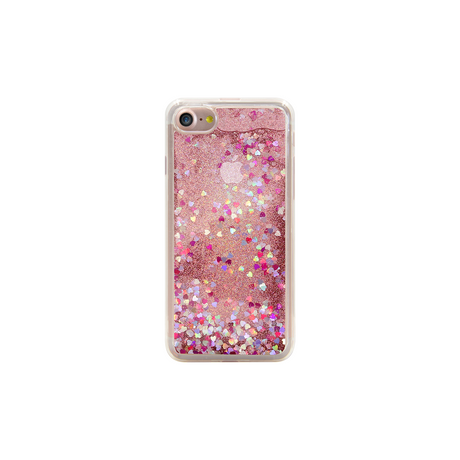 Bling Bling Hybrid Glitter Case for Apple iPhone 7, Pink Lady