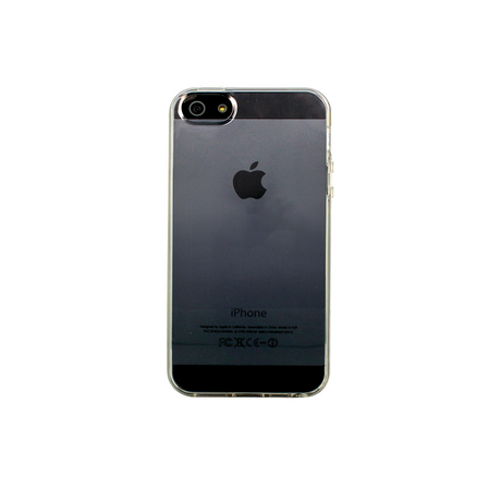 Case for Apple iPhone 5/5S/SE, Transparent silicone