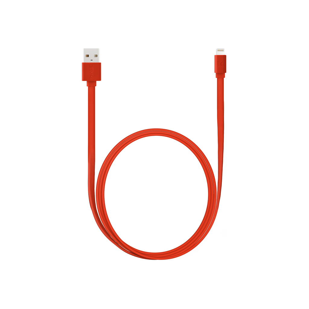 Apple MFi certified Lightning Flat cable to USB (1m)