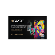 Personalization Membership Card