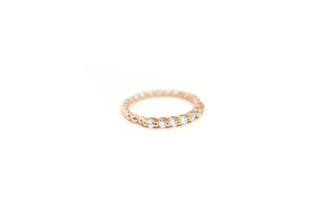 Flash Me Verlobung Memoire Brillant Ring Roségold