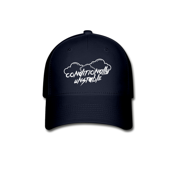 Conditionally Unstable Baseball Cap - navy