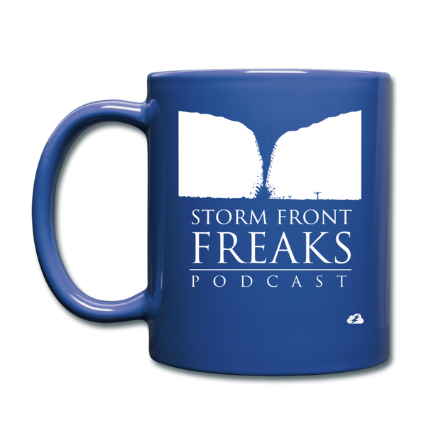 Storm Front Freaks Mug - royal blue