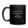 Tornado Warning Mug - black