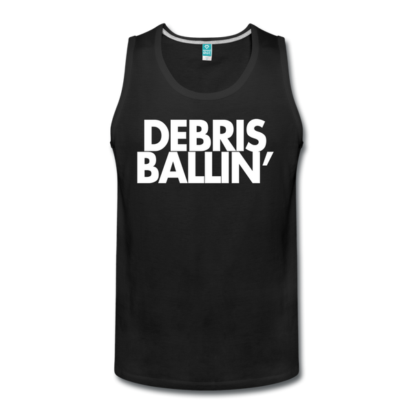 Debris Ballin' Men's Tank - black