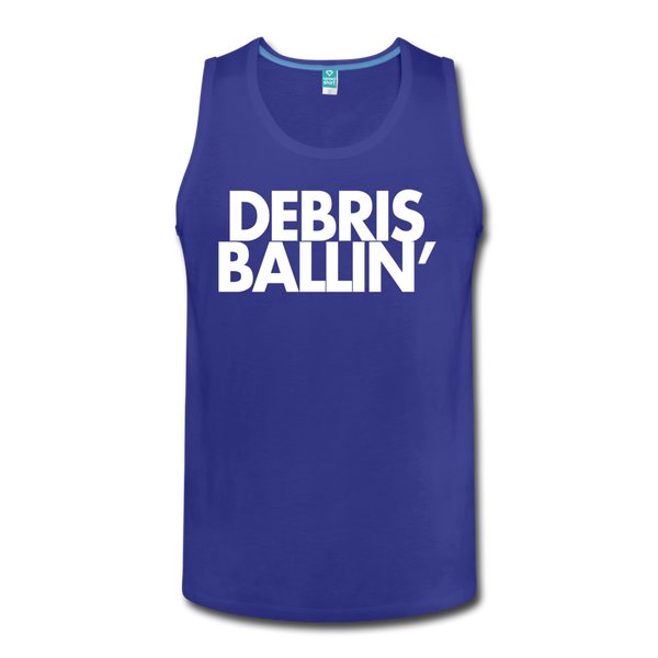 Debris Ballin' Men's Tank - royal blue