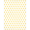 Lightning Minky Blanket - Yellow