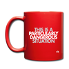 This is a PDS Mug - red