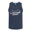 Conditionally Unstable Men's Tank - navy