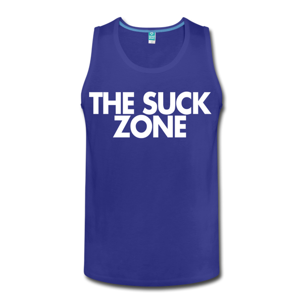 The Suck Zone Men's Tank - royal blue