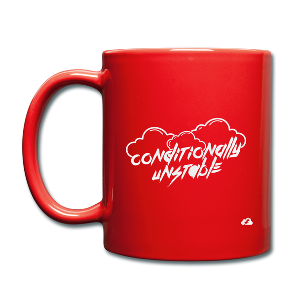 Conditionally Unstable Mug - red