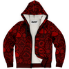 Weather Icon (Red) Zip-Up Hoodie