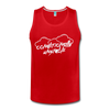 Conditionally Unstable Men's Tank - red