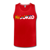 Hooked Men's Tank - red