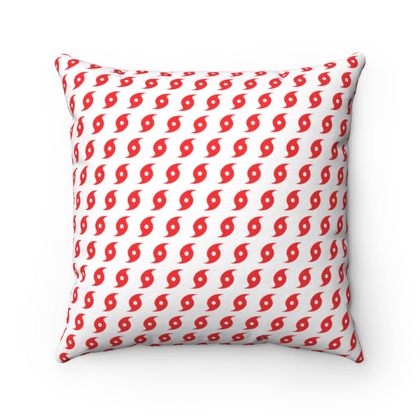 Hurricane Square Pillow
