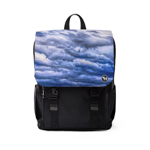 Mostly Cloudy Casual Shoulder Backpack