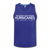 We Don't Run From Hurricanes Men's Tank - red