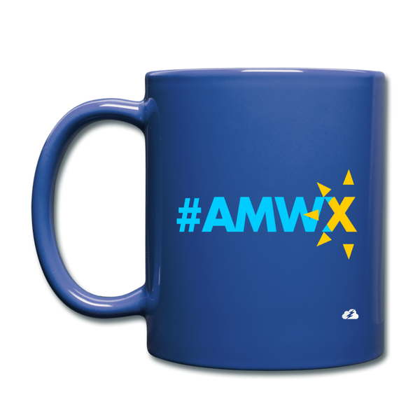 #AMWX (Black) Mug - royal blue