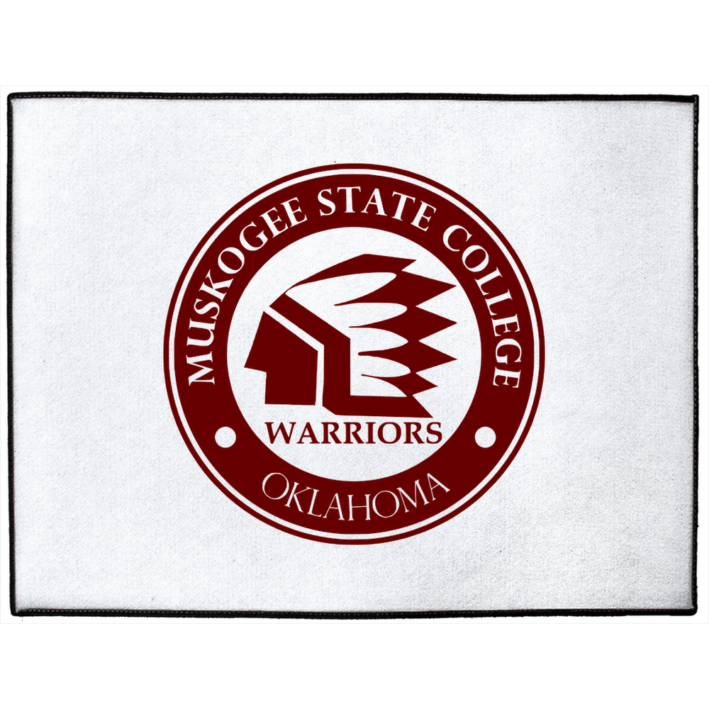 Muskogee State College Indoor/Outdoor Floor Mat