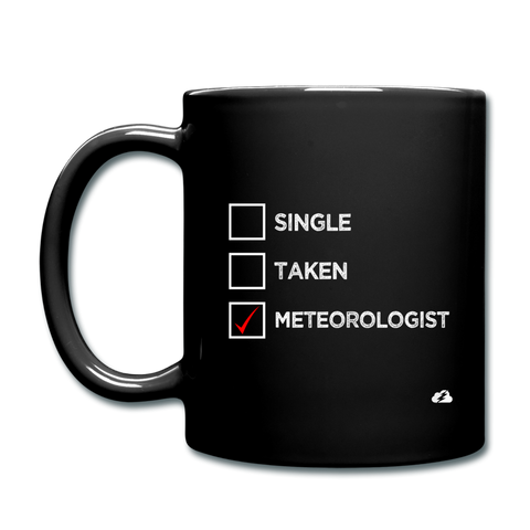 Single, Taken, Meteorologist Mug