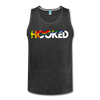 Hooked Men's Tank - charcoal gray