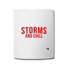Storms and Chill Mug - white