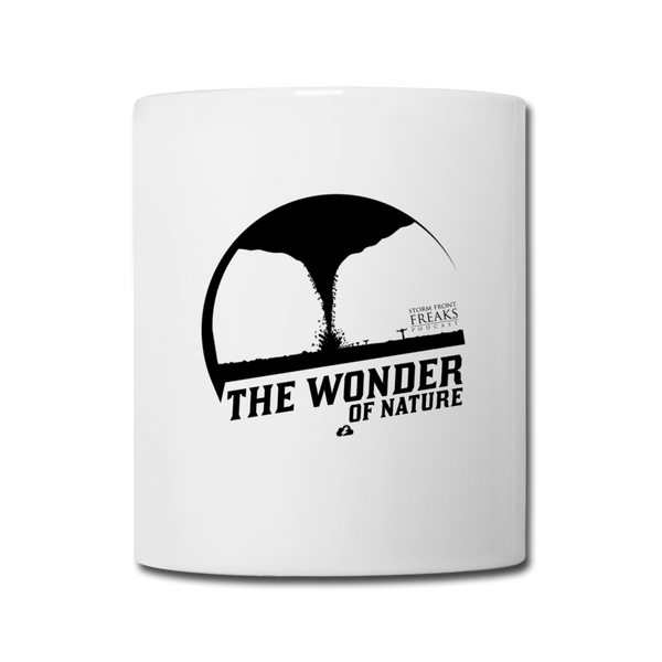 The Wonder of Nature Mug - white
